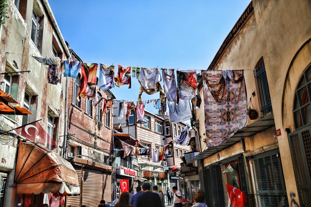 Turkish street free to use stock photo